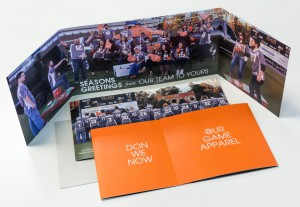 Our graphic design for our annual Christmas card always wins advertising awards, and this year was no different!