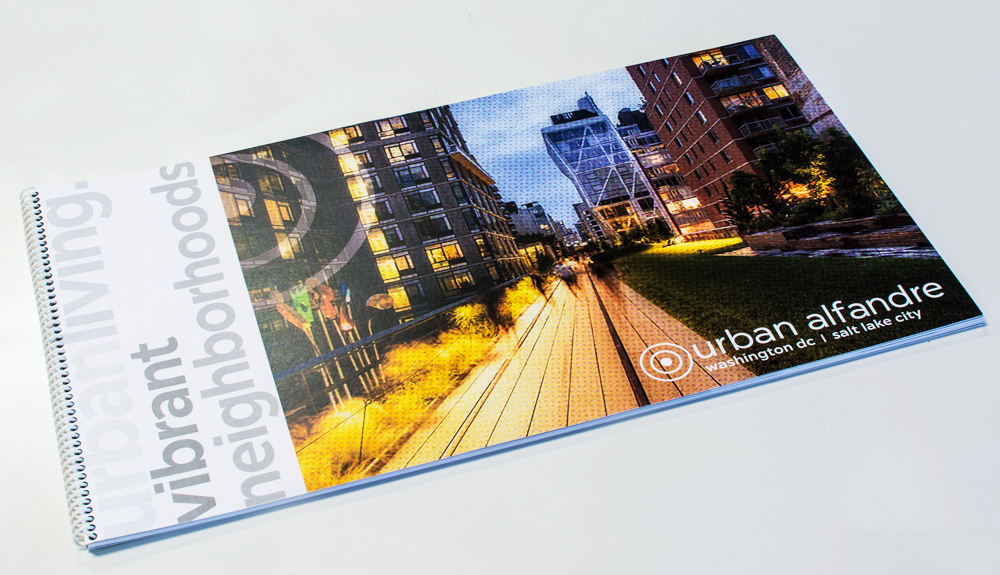 Our urban alfandre brochure took a gold ADDY advertising agency award!