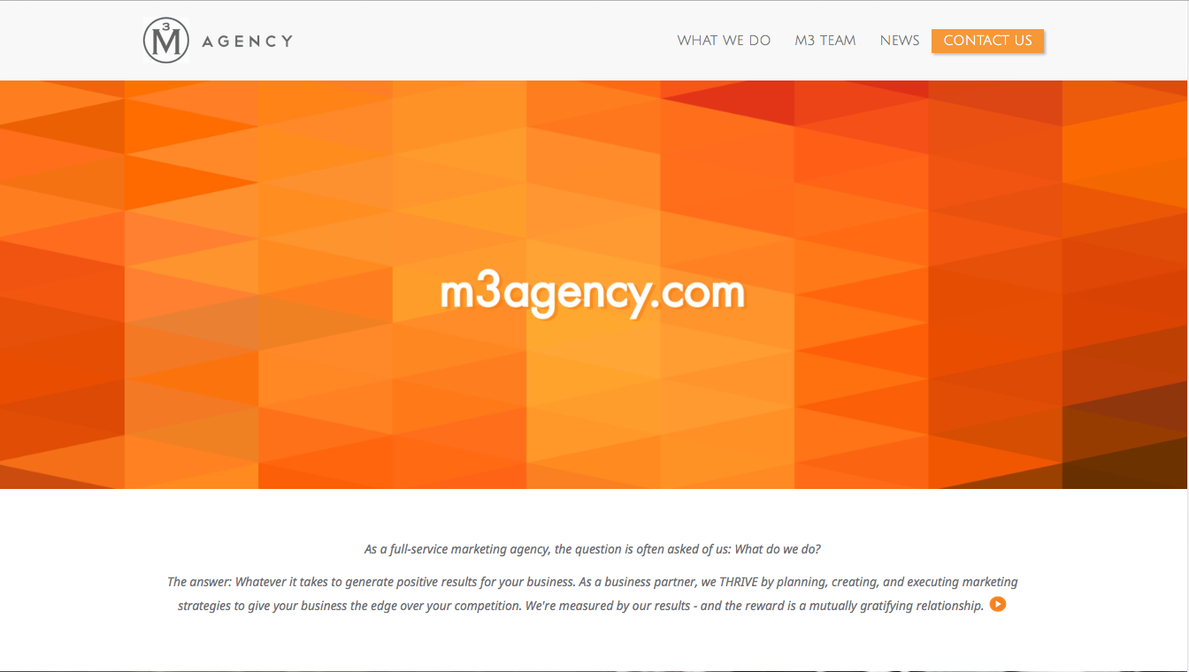 Our newly-redesigned website took home a Bronze ADDY advertising award!