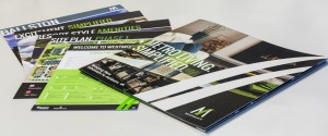 Our Westmoore brochure graphic design, emphasizing urban living, took a Silver ADDY advertising agency award.